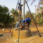The Water Project: Sankoya Community, Prophecy Primary School -  Drilling Well