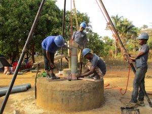 The Water Project:  Well Drilling Underway