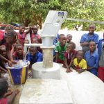The Water Project: Sankoya Community, Prophecy Primary School -  Clean Water Flowing
