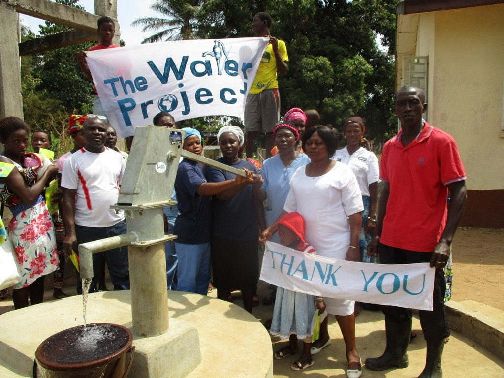 The Water Project : sierraleone18724-well-is-dedicated