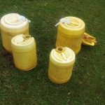 The Water Project: Emulakha Community -  Water Containers Used To Fetch And Store Water