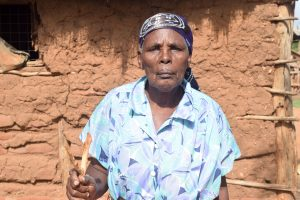 The Water Project:  Maluvyu Shg Member Kathikwa Mutunga
