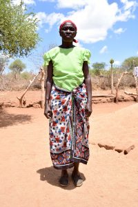 The Water Project:  Ndineesi Uu Shg Member Mary Mutemi