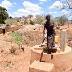 The Water Project: Katuluni Community C -  First Well Neighboring Ikulya