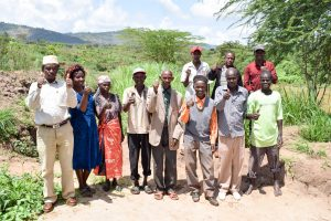 The Water Project:  Mbuuni Self Help Group Members