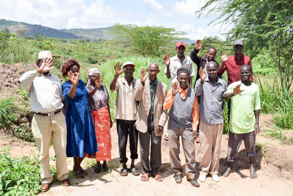 The Water Project : 1-kenya18200-self-help-group-members