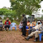 The Water Project: Kivandini Community A -  Training