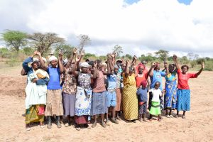 The Water Project:  Kianguni Shg Members