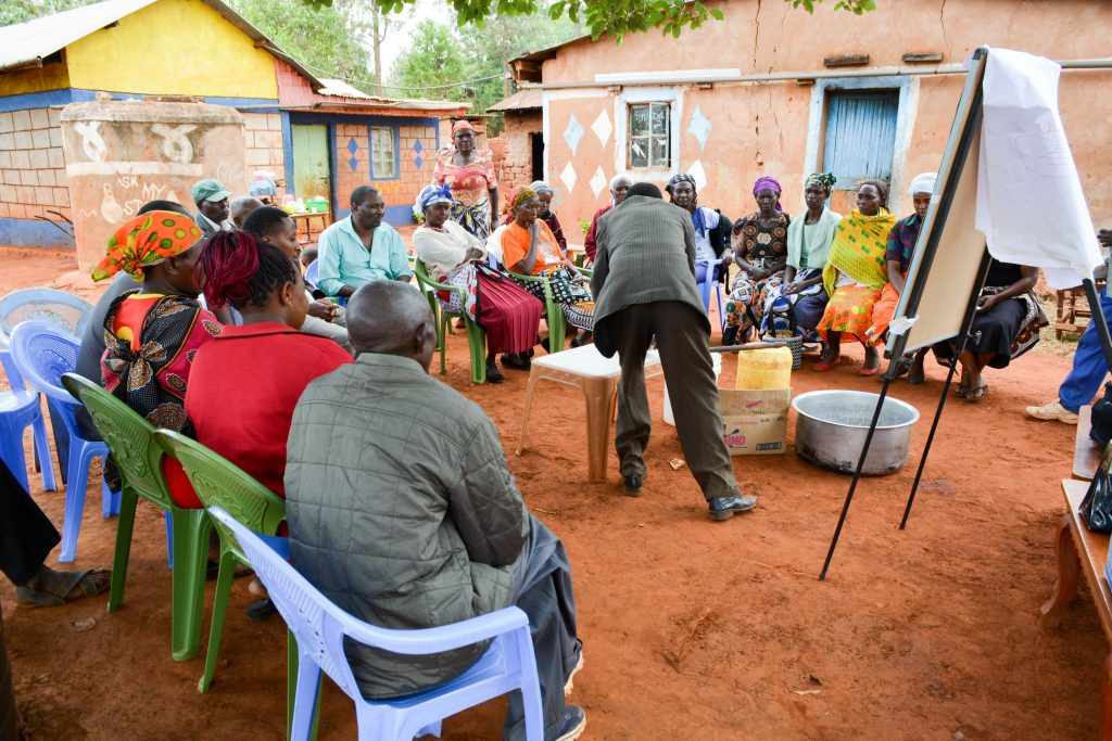 The Water Project : 1-kenya18205-soap-training
