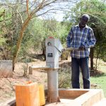 The Water Project: Masola Community A -  A Well Installed In Neighboring Kaani Community