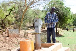 The Water Project:  A Well Installed In Neighboring Kaani Community