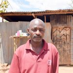 The Water Project: Katuluni Community C -  Ndineesi Uu Shg Member Jeremiah Ngei