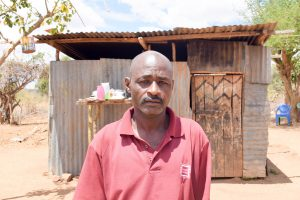 The Water Project:  Ndineesi Uu Shg Member Jeremiah Ngei