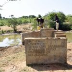 The Water Project: Kivani Community C -  First Well Installed In The Area