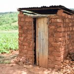 The Water Project: Mbuuni Community B -  Latrine