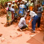 The Water Project: Kitandini Community A -  Handwashing Training
