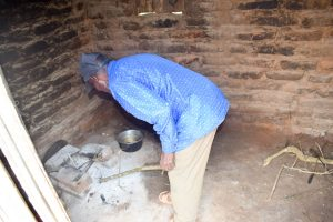 The Water Project:  Mr Mbithi Showing Us His Kitchen