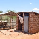 The Water Project: Katung'uli Community B -  Latrine