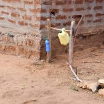 The Water Project: Katuluni Community C -  Handwashing Station