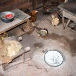 The Water Project: Mbakoni Community A -  Inside Kitchen