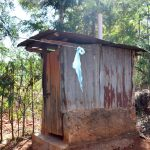 The Water Project: Masola Community A -  Latrine