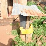 The Water Project: Maluvyu Community B -  Handwashing Station By Latrine