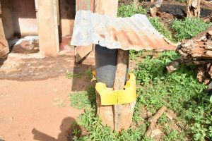 The Water Project:  Handwashing Station By Latrine