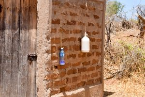 The Water Project:  Latrine And Handwashing Bottles