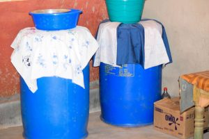 The Water Project:  Water Storage For Esthers Family