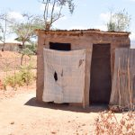 The Water Project: Katung'uli Community C -  Latrine