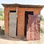 The Water Project: Kivani Community B -  Latrine
