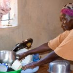 The Water Project: Utuneni Community -  Esther In Her Kitchen