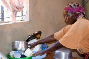 The Water Project:  Esther In Her Kitchen