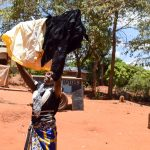 The Water Project: Uthunga Community -  Jackline Using Clothesline