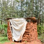 The Water Project: Kitandini Community A -  Latrine