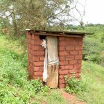 The Water Project: Mbakoni Community A -  Latrine