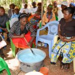 The Water Project: Kitandini Community A -  Soap Training