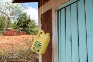 The Water Project:  Empty Container Meant For Handwashing Water