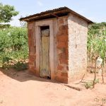 The Water Project: Kivani Community C -  Latrine
