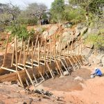 The Water Project: Maluvyu Community B -  Sand Dam Construction