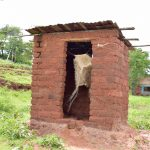 The Water Project: Mbakoni Community -  Latrine
