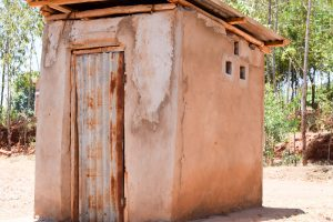 The Water Project:  Esthers Latrine