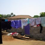 The Water Project: Modia Community, 4 Father Road -  Clothesline