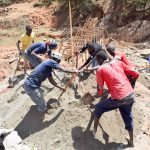 The Water Project: Mbuuni Community B -  Sand Dam Construction