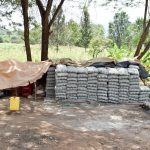 The Water Project: Kitandini Community -  Sand Dam Materials