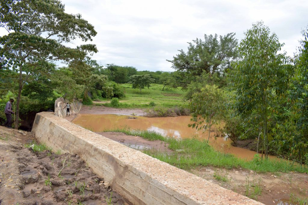 The Water Project : 19-kenya18170-finished-sand-dam