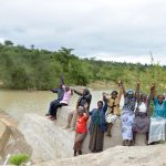 The Water Project: Katung'uli Community B -  Finished Sand Dam