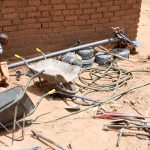 The Water Project: Mbuuni Community D -  Construction Materials