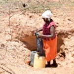 The Water Project: Katung'uli Community B -  Fetching Water