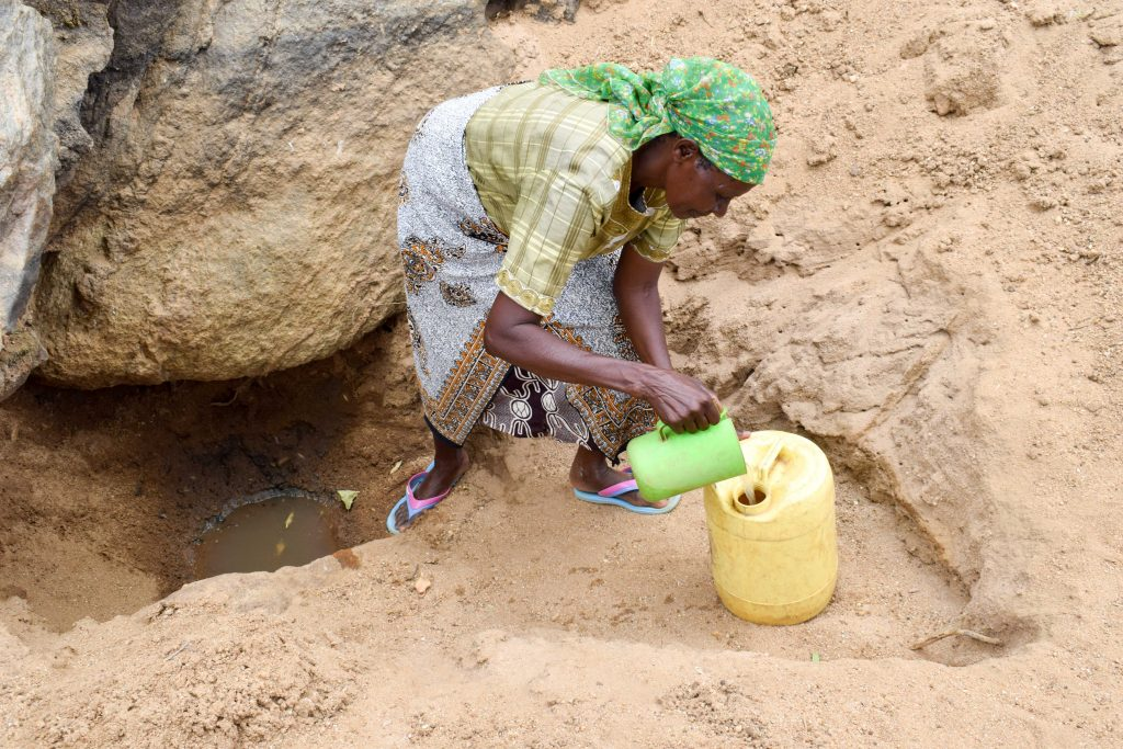 The Water Project : 2-kenya18176-current-water-source